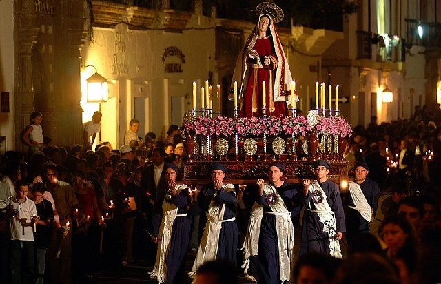 procession semaine sainte popayan