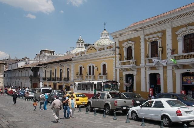 rue de Quito Equateur