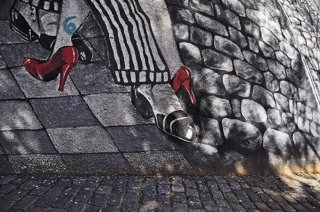 street art buenos aires tango argentin