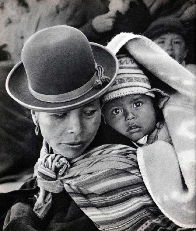 maman et enfant Bolivie