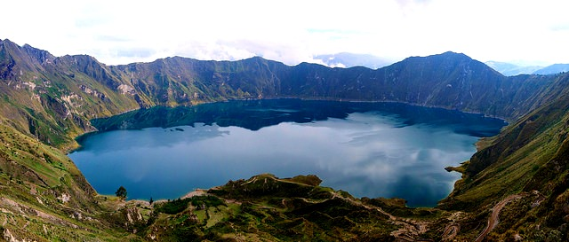lagune quilotoa Equateur
