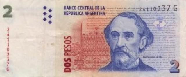 Peso argentin