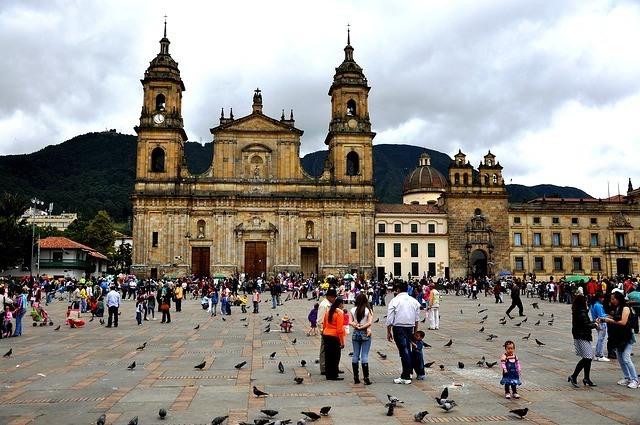 Place Bolivar à Bogota