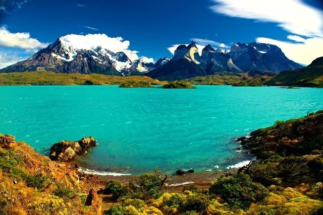 Le lac Pehoé