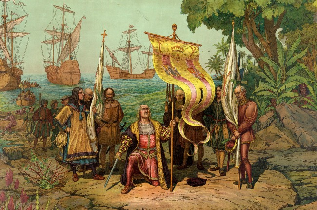 musique colombienne Christophe Colomb