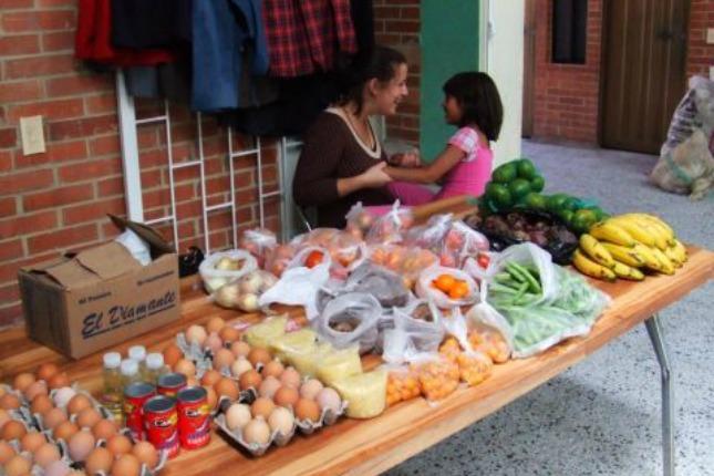 soutien au développement en Colombie