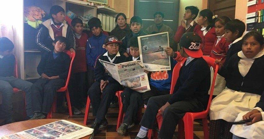 Les jeunes enfants syndiqués de Potosí deviennent des adultes très jeunes, ils prennent en main leur destin et luttent pour leurs droits.