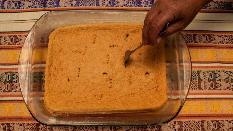 Faire des trous dans le biscuit