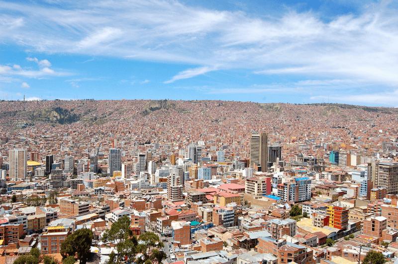 Vue sur La Paz du mirador Killi-Killi - Muel Menal : Flickr