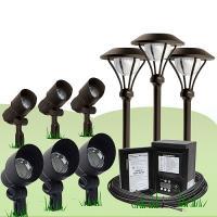 led malibu outdoor lighting kits