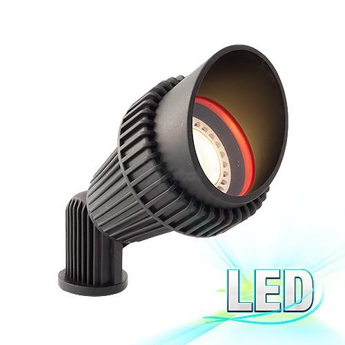 our most popular led black landscape lighting non corrosive composite hooded spot light low voltage warm white