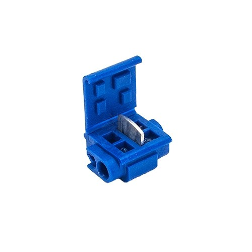 quick outdoor landscape lighting blue tap or run wire connector with moisture resistant gel 3m 804