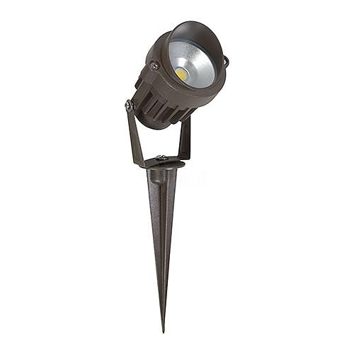 led outdoor landscape lighting bronze spot light 6watt cool white low voltage aluminum