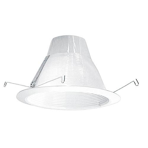 6 recessed lighting air tight white baffle white trim