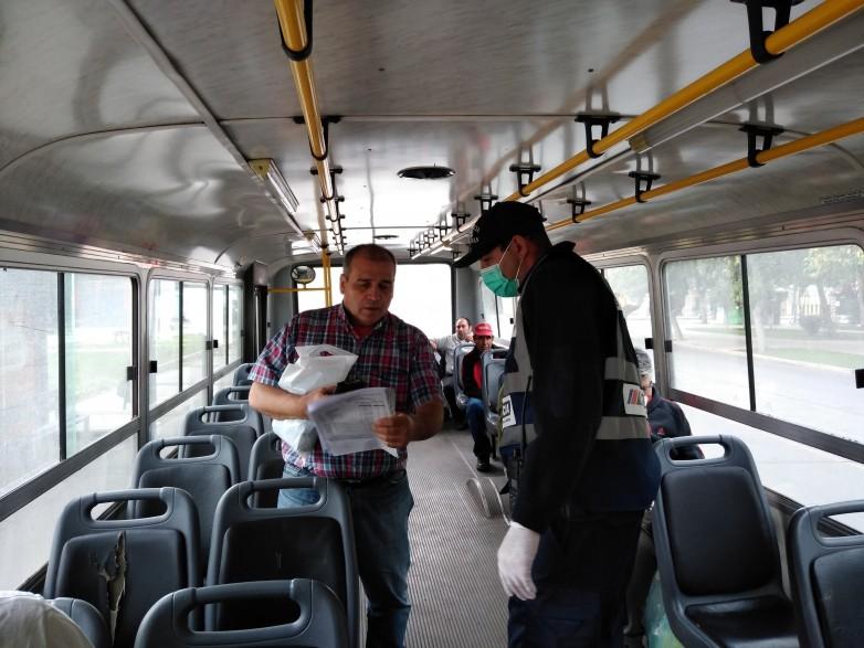 MinGob y Seguridad coordinan el control de pasajeros de transporte publico