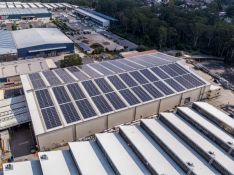 Delivering a sustainable future: Australia's largest solar panel installation