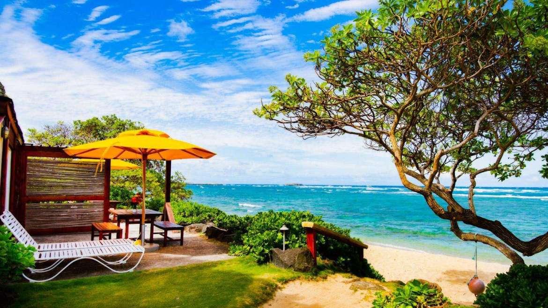OCEAN SUN bungalow: deck