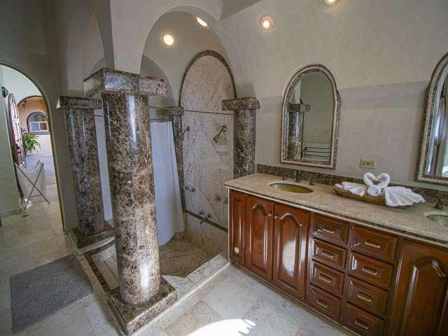 Bathroom on the left side
