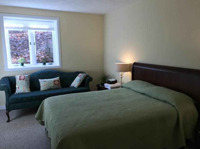 1st floor bedroom with full bath