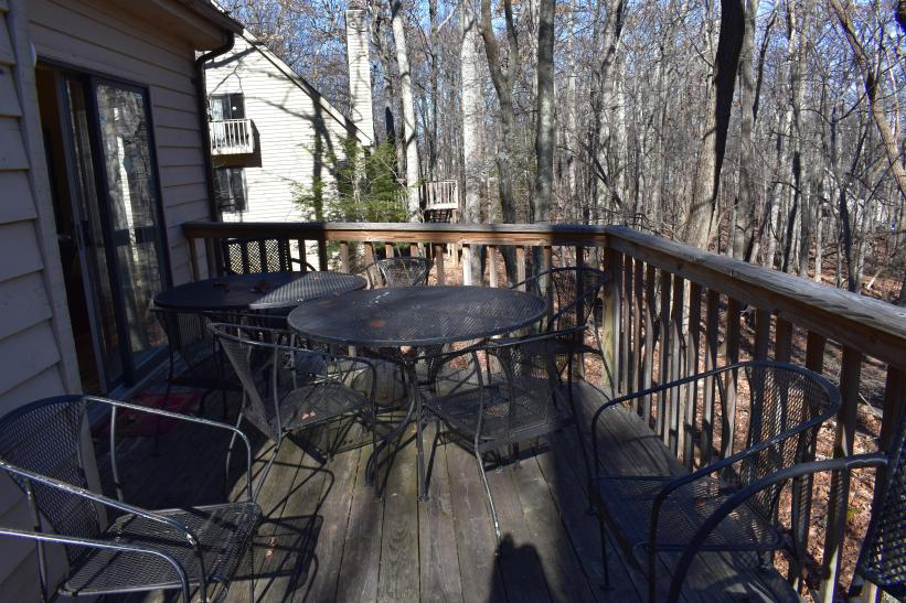 Other side of deck