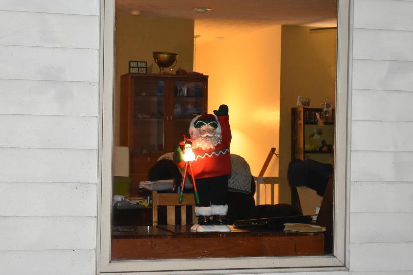 Santa will be here soon