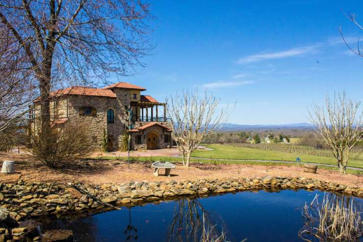 Rafflaldini Vineyards just a short 15 minutes away features incredible views and wines