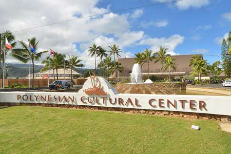 Polynesian Cultural Center is across the street from Tiki Moon Villas