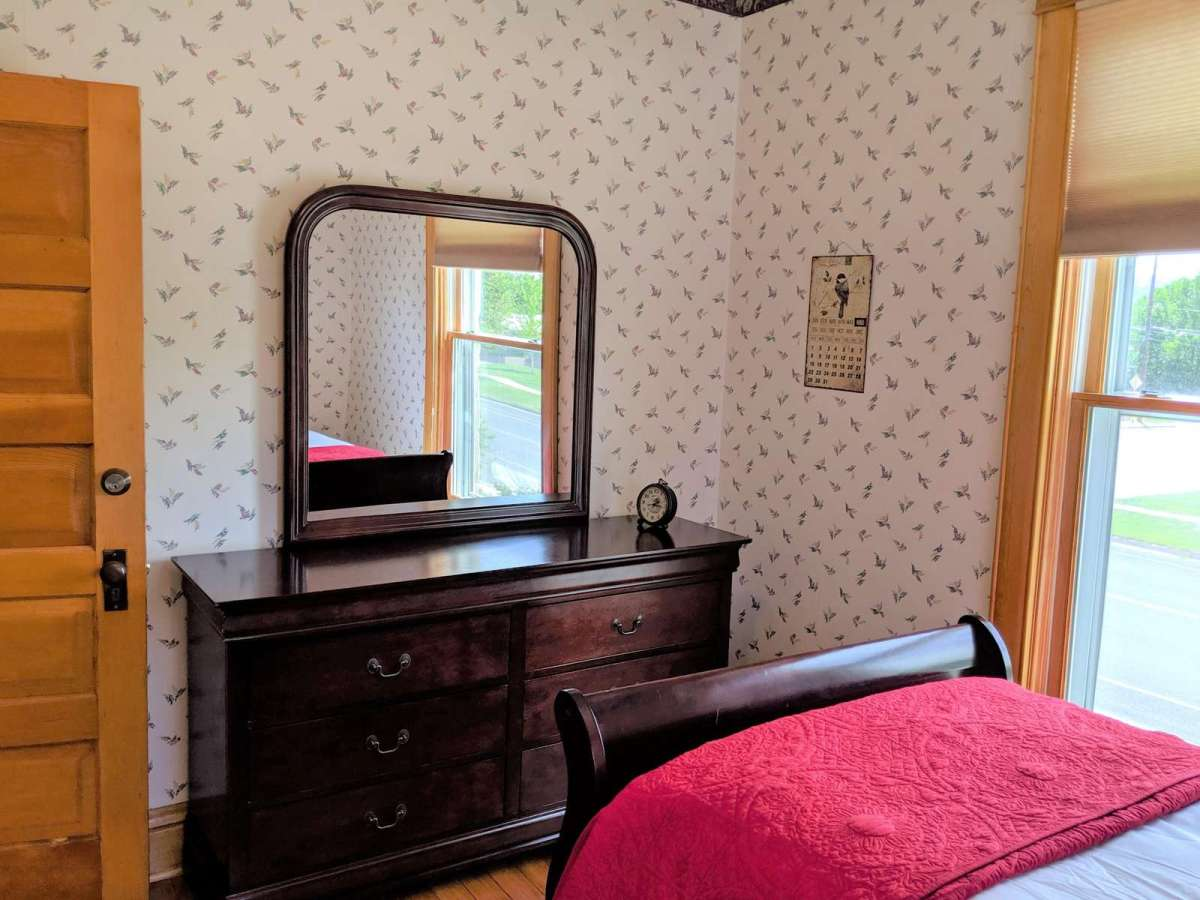 Twin Bedroom includes full size dresser with lots of storage