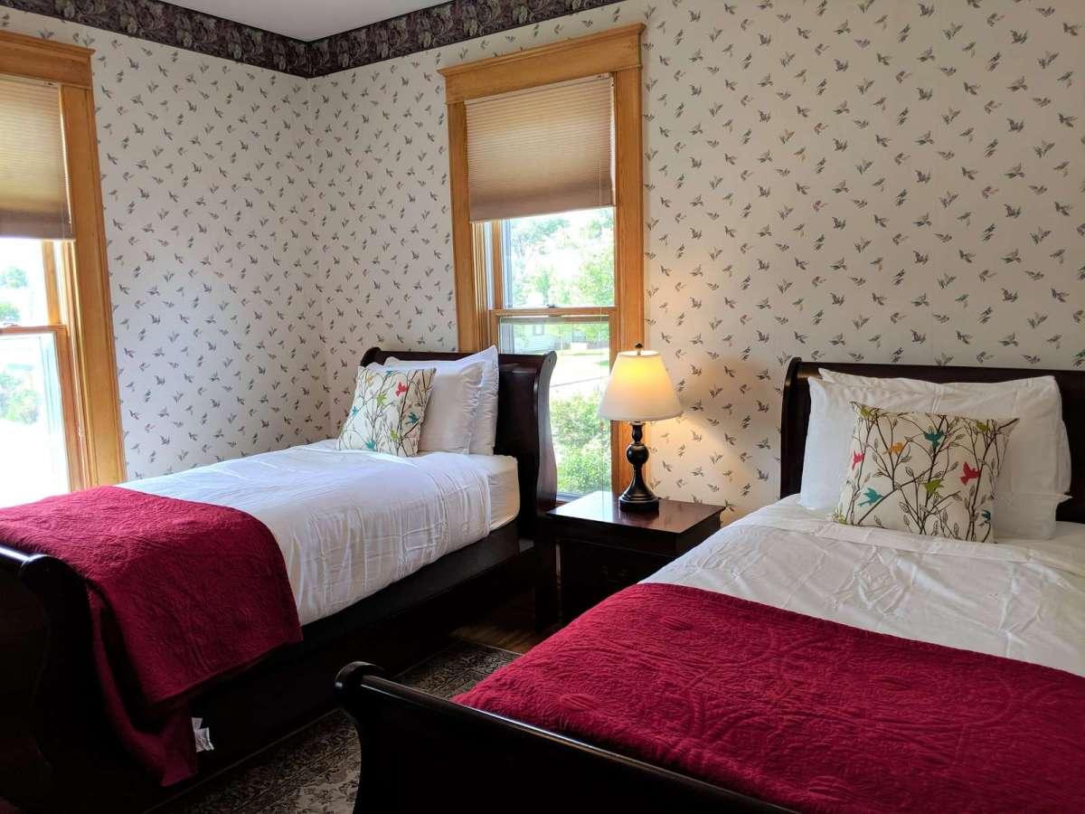 Bright Private Second Level bedroom