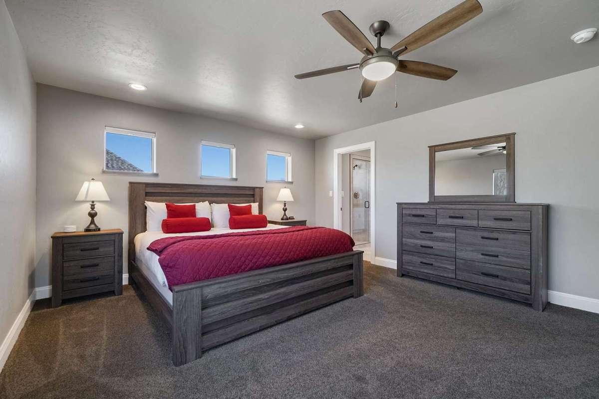 Hawk House II Master Bedroom
