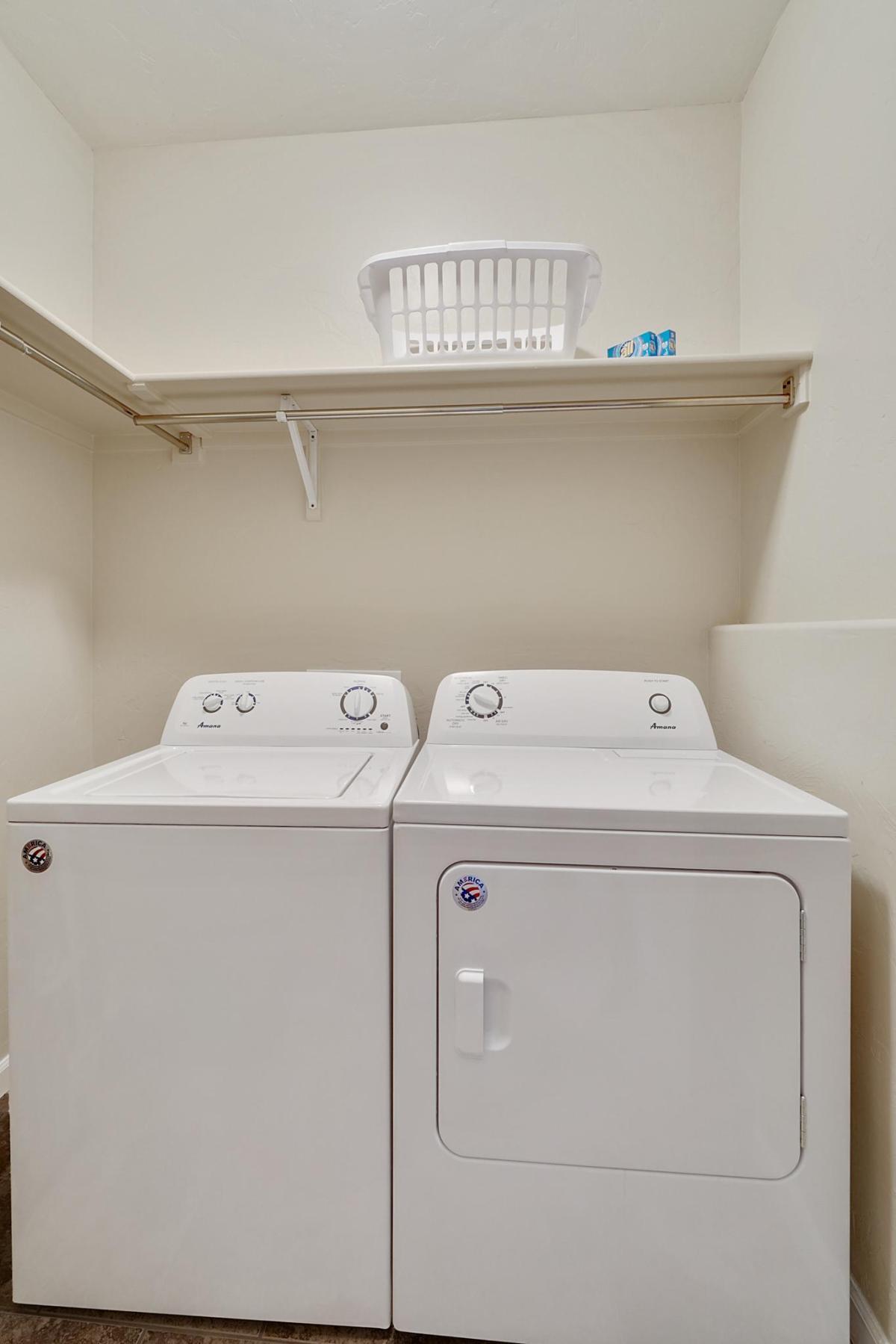 Black Bear II Laundry Room