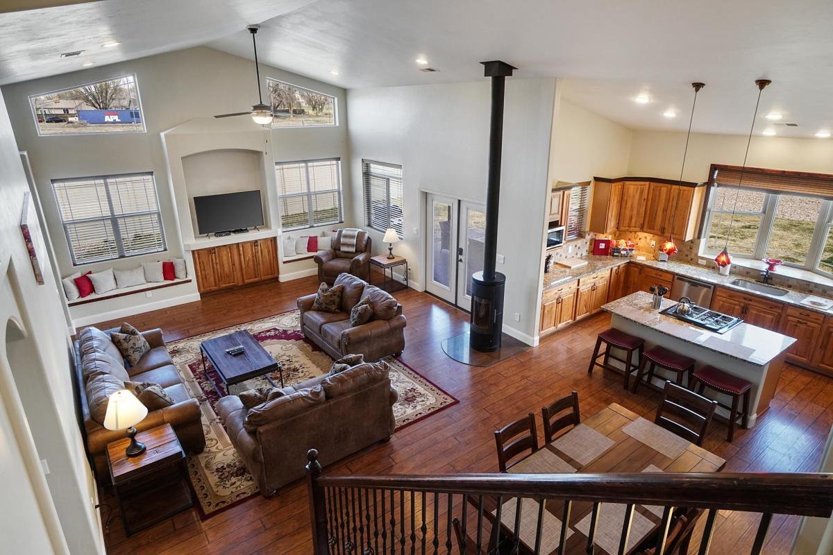 Black Bear II Living Room