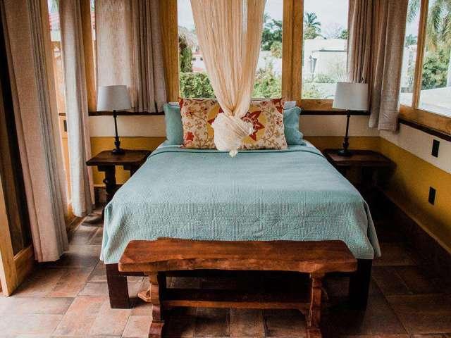 Studio Palapa Bedroom w/ Queen Bed