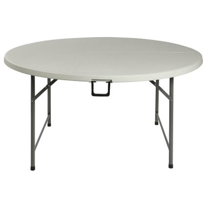 table pliante party blanc rond o152cm