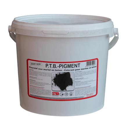 colorant pour mortier et beton ptb noir 4 kg