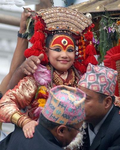 Kumari, the Living Goddess of Kathmandu