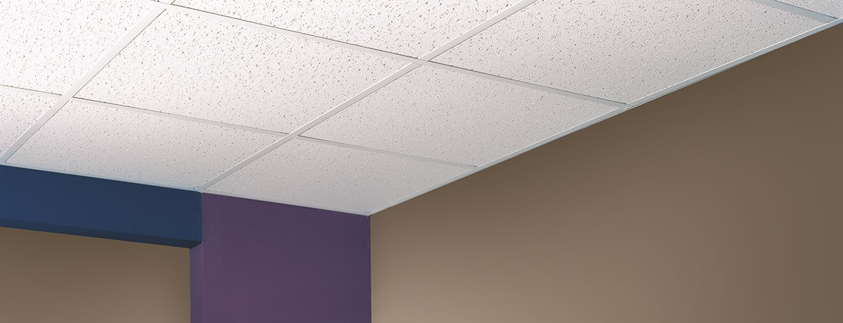 directional fissured ceilings and