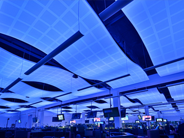 acoustic ceiling tiles sound