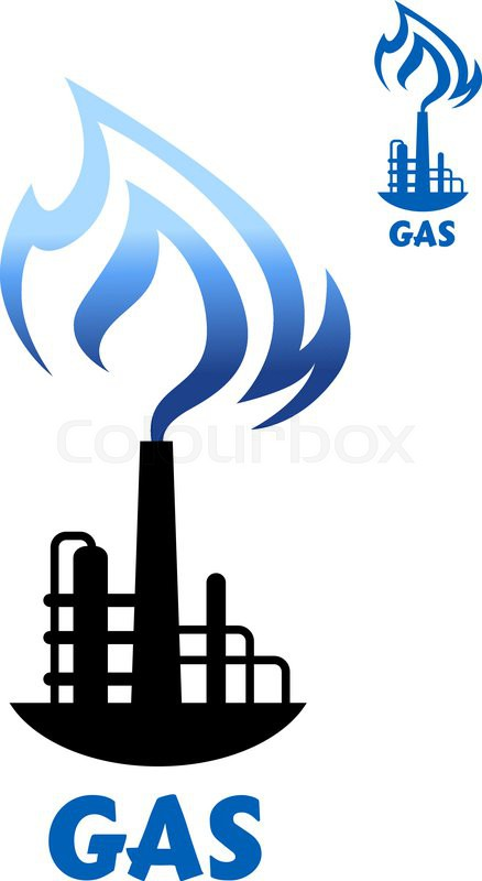Natural Gas Symbol Icon