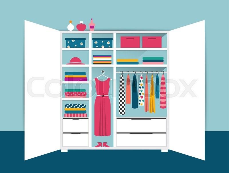 Wood Wardrobe Closet Furniture