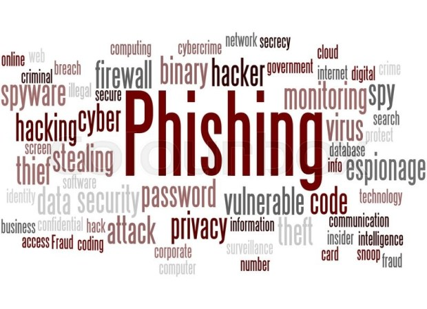 Image result for phishing word