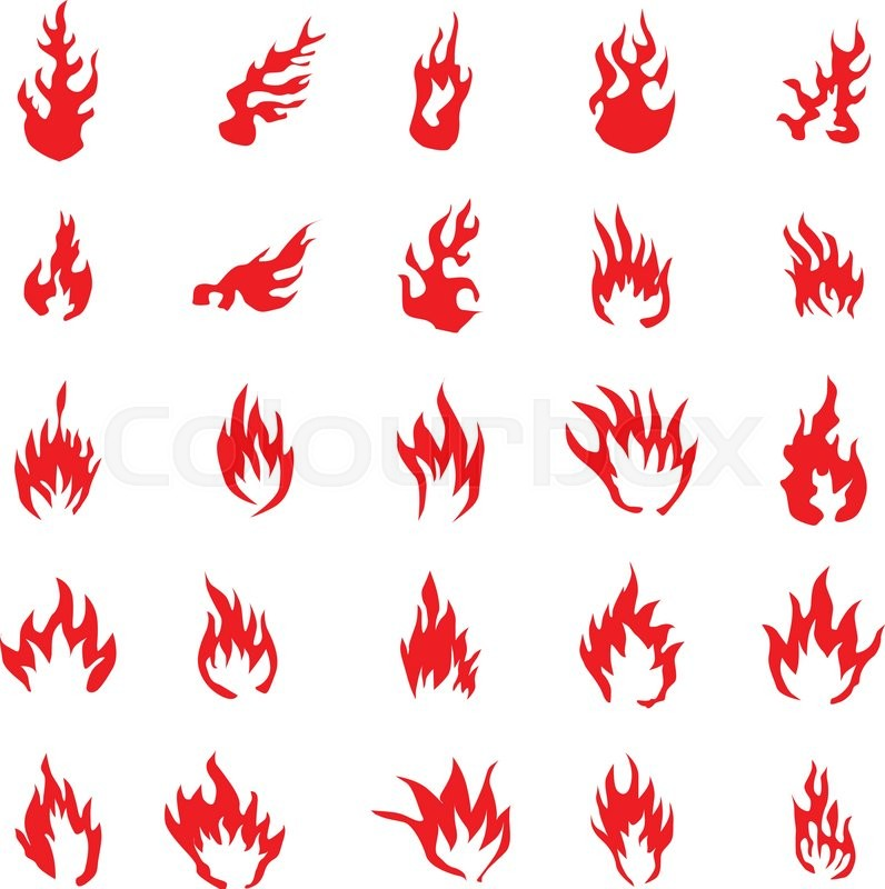 Black White Art Wildfire Clip And