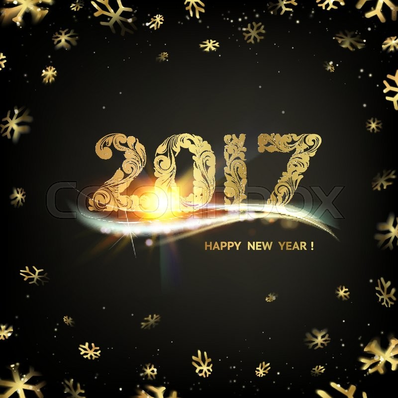 dark new year backgrounds