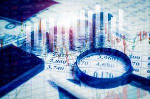 Double exposure Financial stock market in accounting