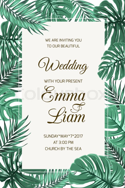 Best Marriage Invitation Card