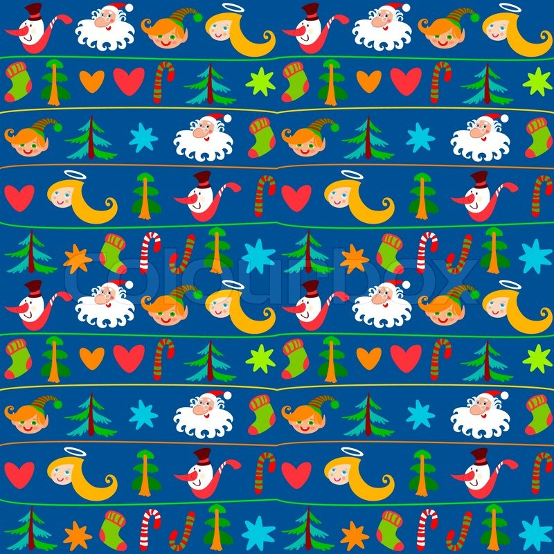 Christmas Background New Years Stock Vector