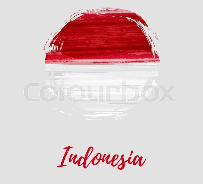 Indonesia Independence Day Background Stock Vector Colourbox