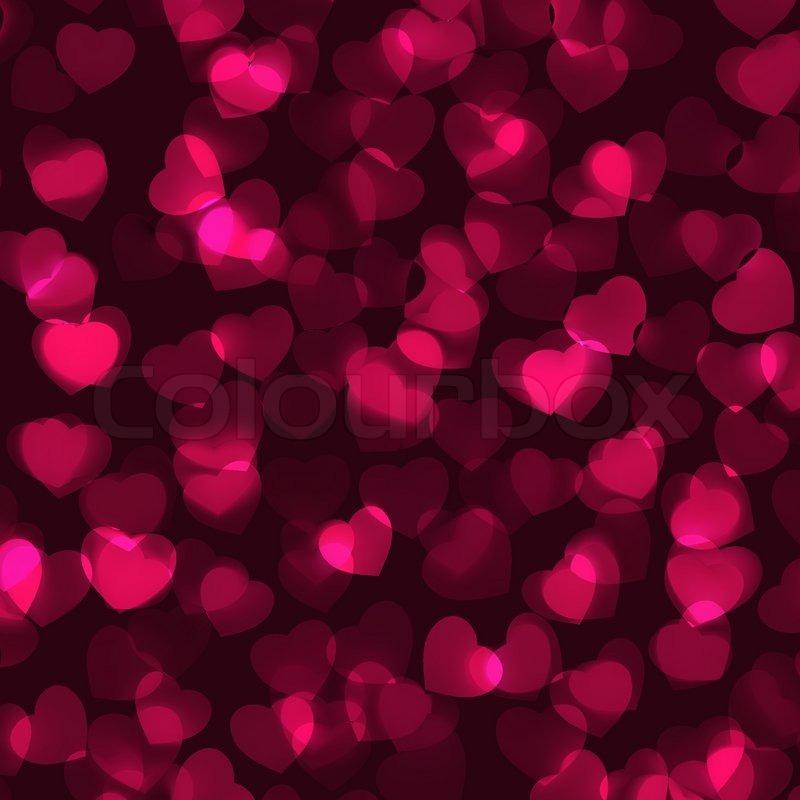 Valentines Day Romantic Background EPS 8 Stock Vector