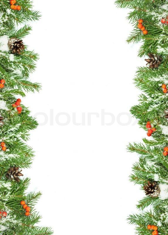 Christmas Background Eve Framework Stock Photo Colourbox