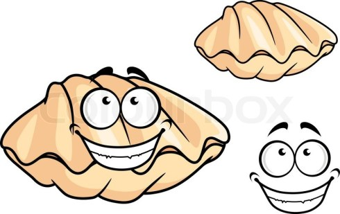 Image result for images of cartoon clam